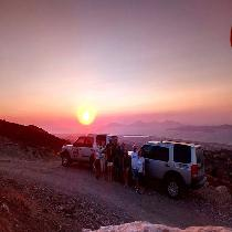 Uncharted Escapes: Land Rover Sunset Safari Kos with Driver and Dinner