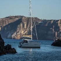 Enjoy a unique winter cruise in the Caldera of Santorini