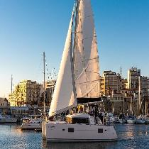 DanEri Yachts:Full day Catamaran Luxury Cruise to Dia from Heraklion port with Lunch