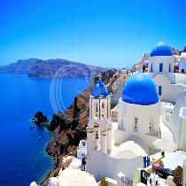 Private Santorini tour with Minibus and Lunch