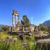 Delphi two days-Temple of Apollo