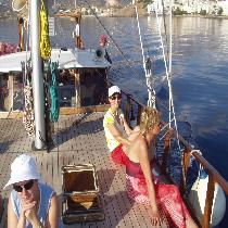 Magic Sailing Day in the Mirabello bay in Agios Nikolaos