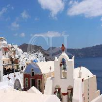 Daily Bus Transfer From Kamari To Oia Village