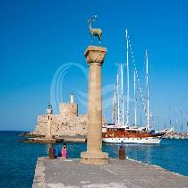 Private guiding tour in Rhodos town