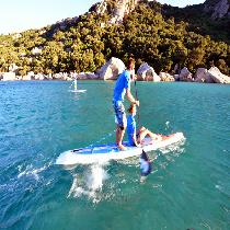 Paddle board Blue lagoon tour