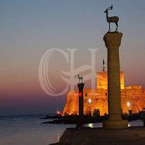 Rhodes by Night -Laterna