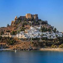 Rhodes: Lindos Half Day Tour with Transfer & Guide