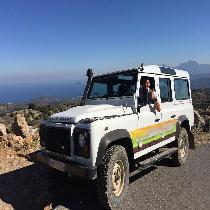 Land Rover Safari Katharo Route