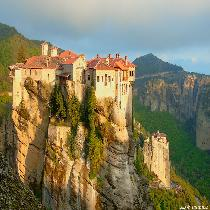 Two Days Rail Tour to Meteora from Athens