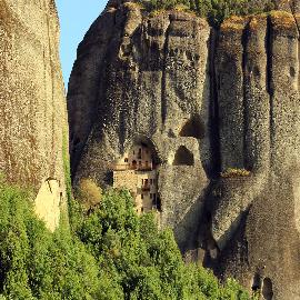 Hiking Meteora's Caves