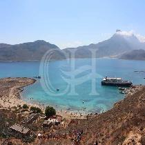 Excursion to Gramvousa Island & lagoon of Balos